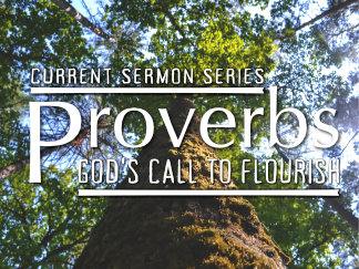 Sermon Series: Proverbs — God's Call to Flourish